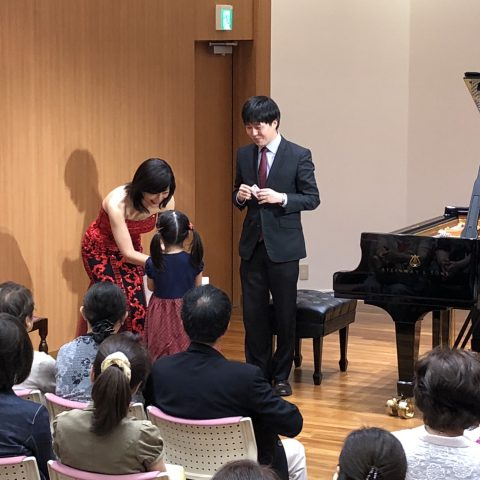 スタインウェイ&サンズ神戸 1周年記念コンサート当日の様子