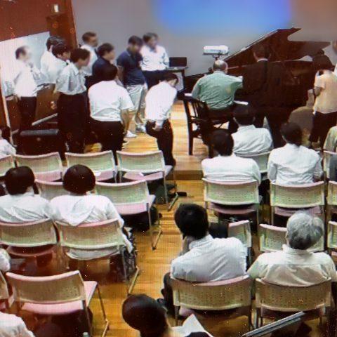 スタインウェイ会 近畿地区研修会が行われました。