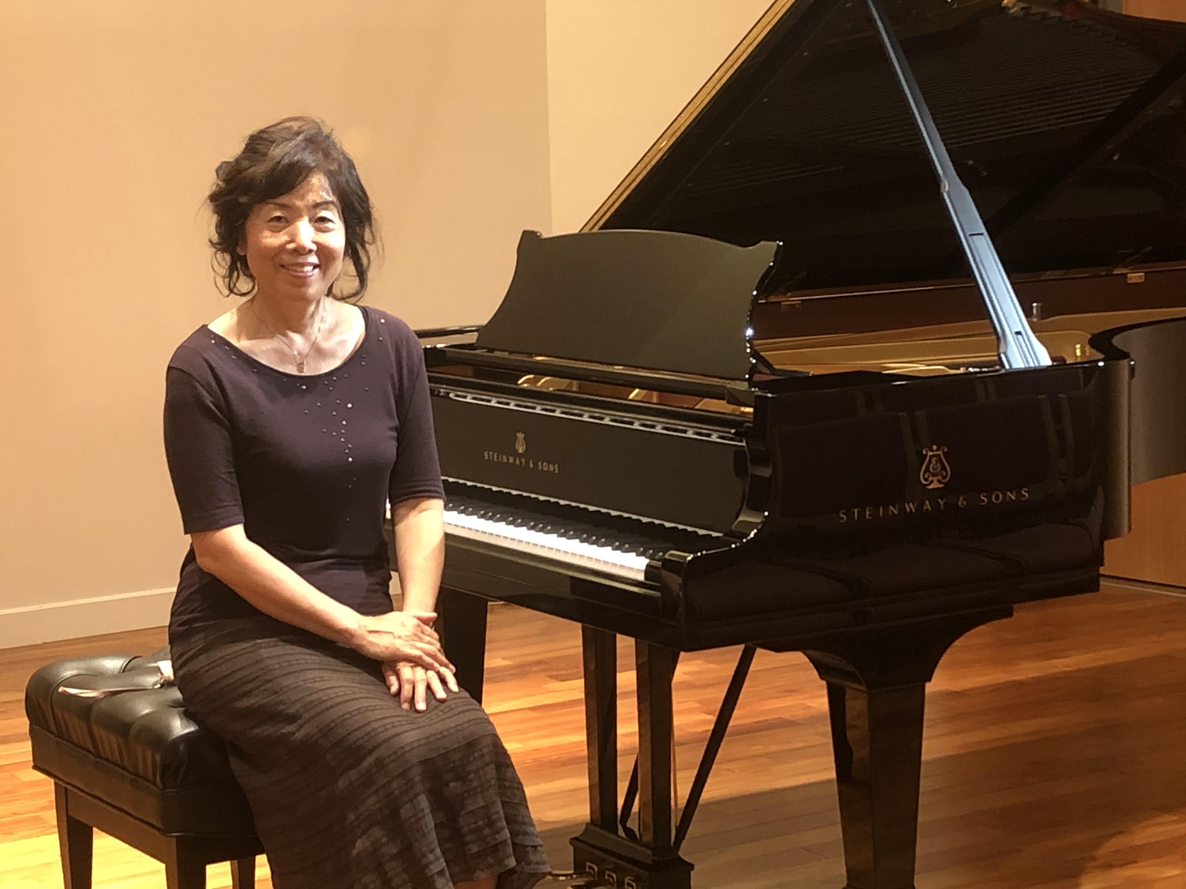 Steinway Artist 前田美由紀先生による「Steinway Piano Lesson vol.4」当日の様子