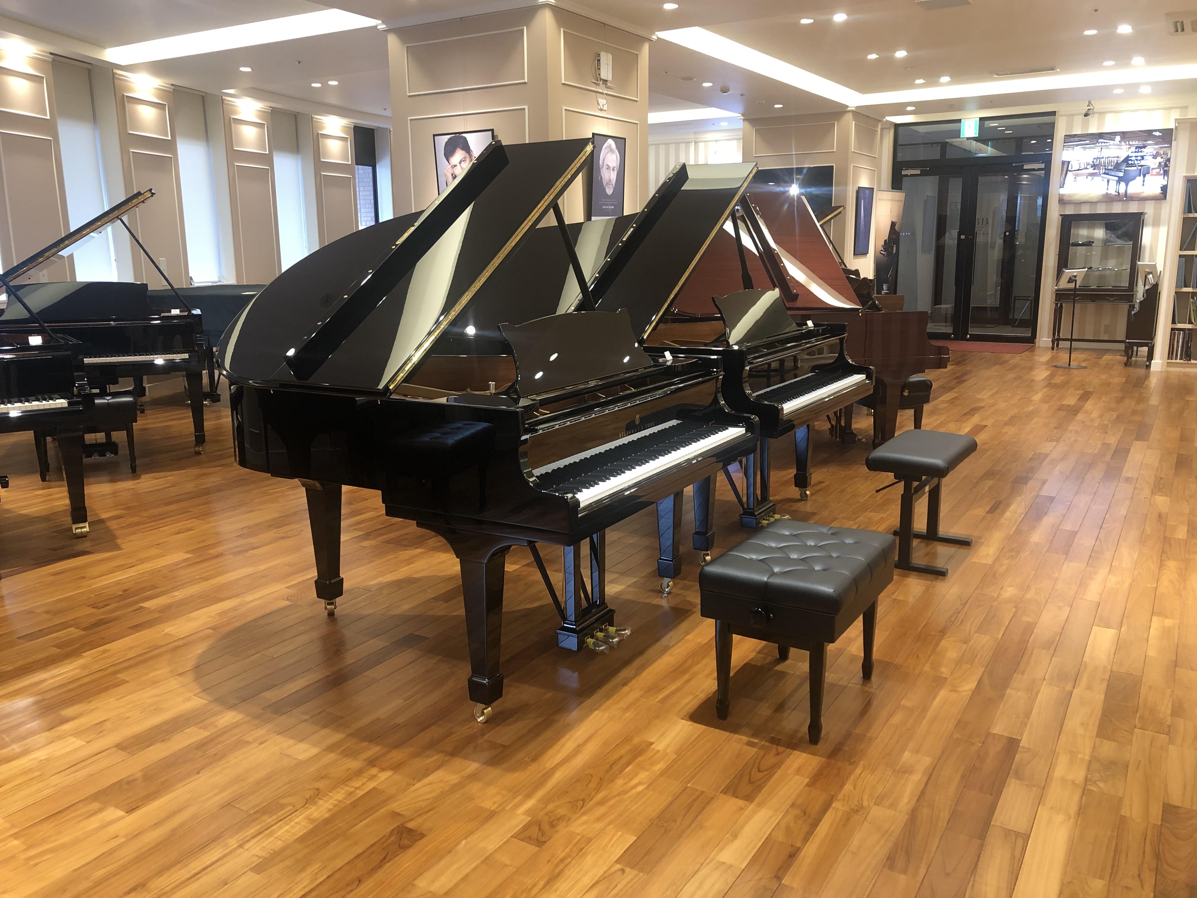 ピアノのご試弾、リハーサルルーム・練習室のご見学について