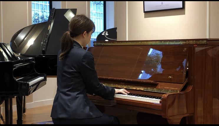 『ボストンピアノ』Steinway & Sons KOBEオリジナルムービー♪(実演付)