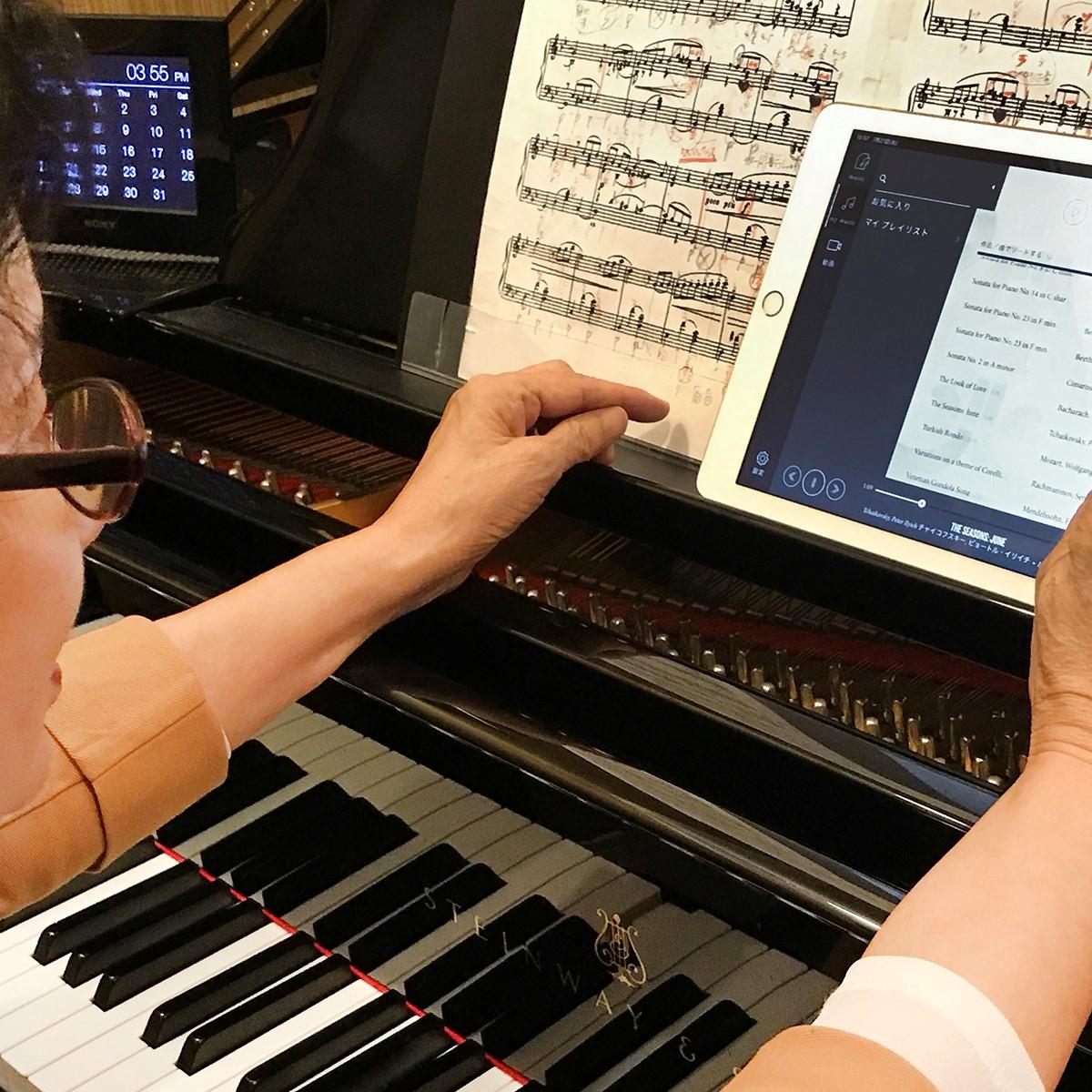 滋賀県在住の Y様(ご愛用ピアノ Steinway SPIRIO model M-170)